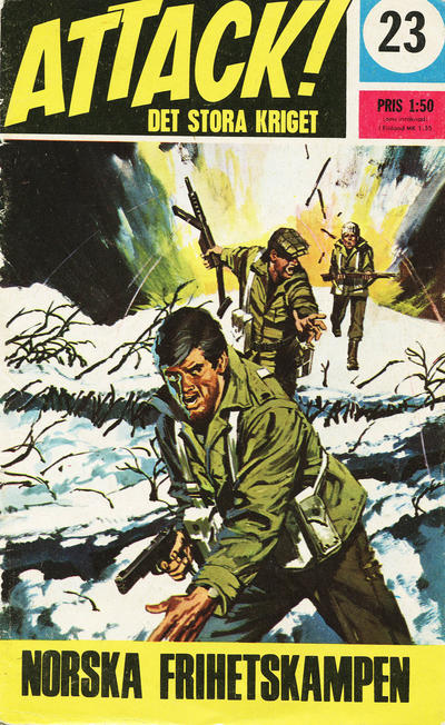 Cover for Attack (Semic, 1967 series) #23