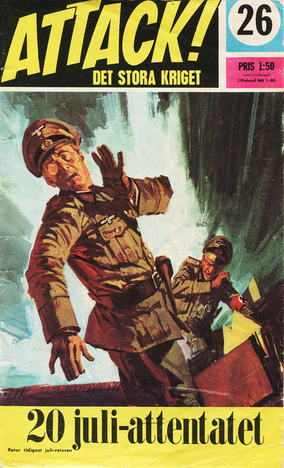 Cover for Attack (Semic, 1967 series) #26