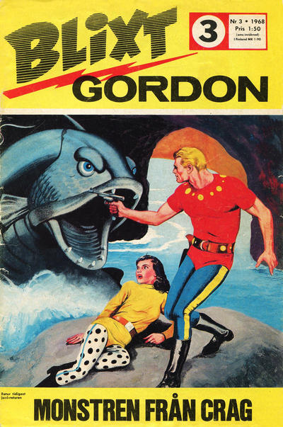 Cover for Blixt Gordon (Semic, 1967 series) #3/1968