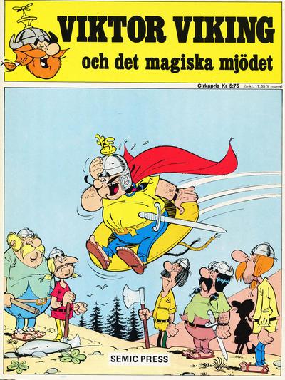 Cover for Viktor Viking och det magiska mjödet (Semic, 1971 series) #[nn] - Viktor Viking och det magiska mjödet