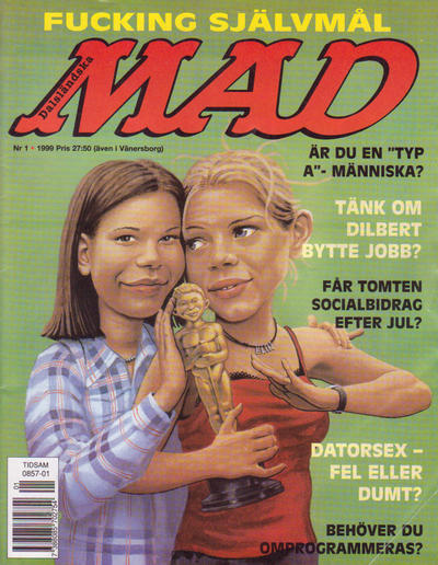 Cover for Svenska Mad (Atlantic Förlags AB, 1997 series) #1/1999 [322]