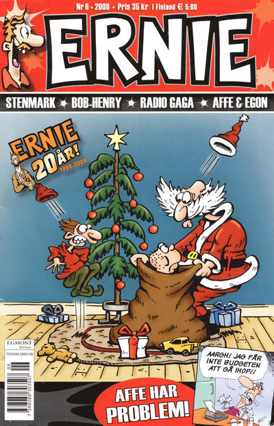 Cover for Ernie (Egmont, 2000 series) #6/2008