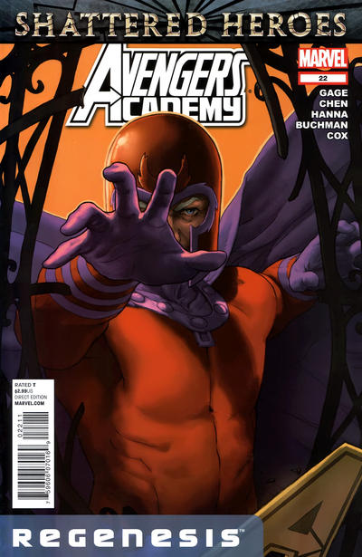 Cover for Avengers Academy (Marvel, 2010 series) #22