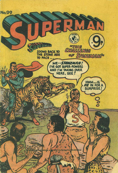 Cover for Superman (K. G. Murray, 1947 series) #99