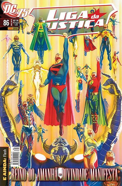 Cover for Liga da Justiça (Panini Brasil, 2002 series) #86