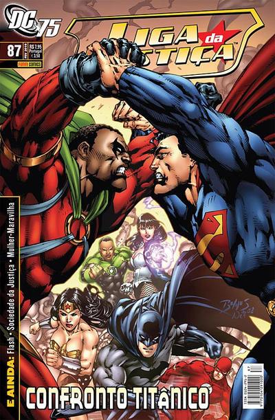 Cover for Liga da Justiça (Panini Brasil, 2002 series) #87
