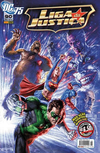 Cover for Liga da Justiça (Panini Brasil, 2002 series) #90