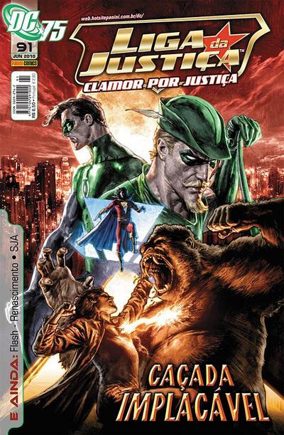Cover for Liga da Justiça (Panini Brasil, 2002 series) #91