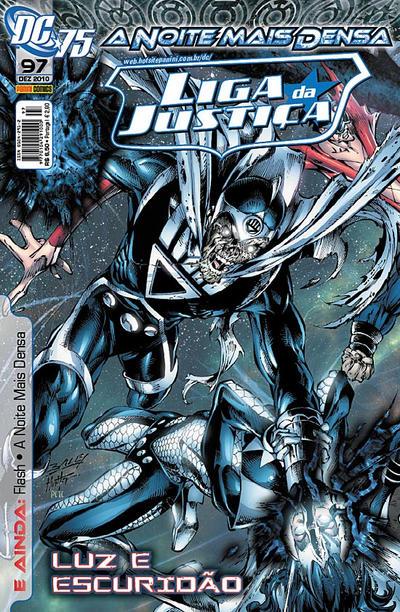 Cover for Liga da Justiça (Panini Brasil, 2002 series) #97