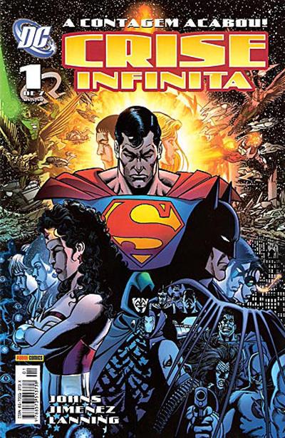 Cover for Crise Infinita (Panini Brasil, 2006 series) #1