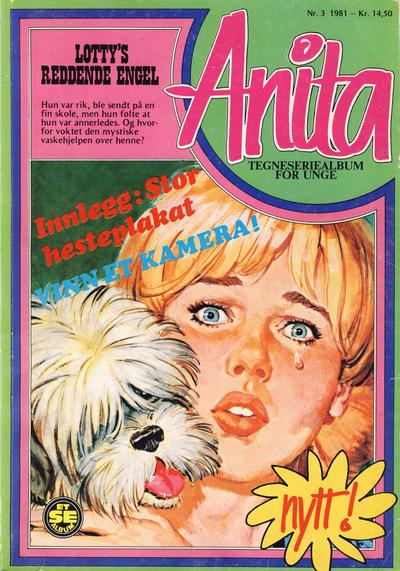 Cover for Anita - Et Se-album (Serieforlaget / Se-Bladene / Stabenfeldt, 1981 series) #3/1981
