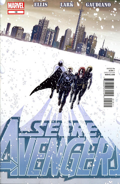 Cover for Secret Avengers (Marvel, 2010 series) #19 [Variant Edition]