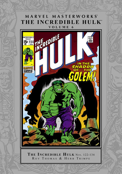 Cover for Marvel Masterworks: The Incredible Hulk (Marvel, 2003 series) #6 (167) [Limited Variant Edition]