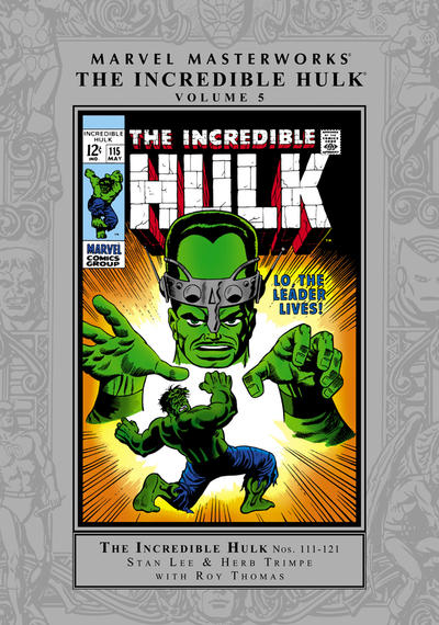 Cover for Marvel Masterworks: The Incredible Hulk (Marvel, 2003 series) #5 [Regular Edition]