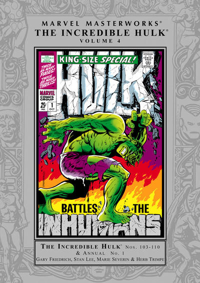 Cover for Marvel Masterworks: The Incredible Hulk (Marvel, 2003 series) #4 (78) [Limited Variant Edition]