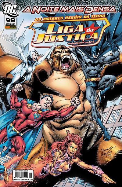 Cover for Liga da Justiça (Panini Brasil, 2002 series) #98