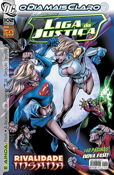 Cover for Liga da Justiça (Panini Brasil, 2002 series) #102