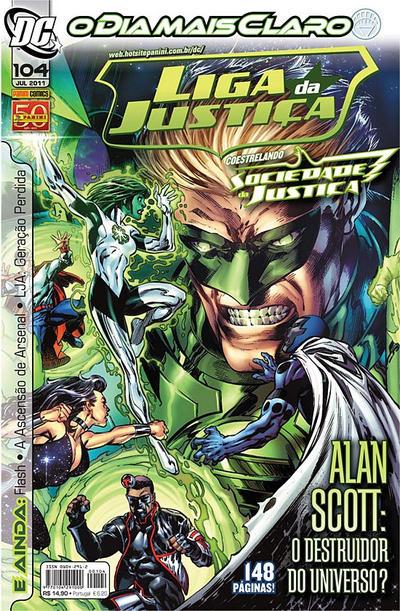 Cover for Liga da Justiça (Panini Brasil, 2002 series) #104