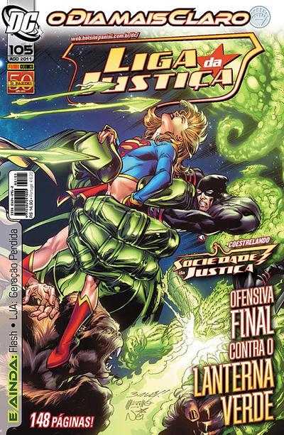 Cover for Liga da Justiça (Panini Brasil, 2002 series) #105