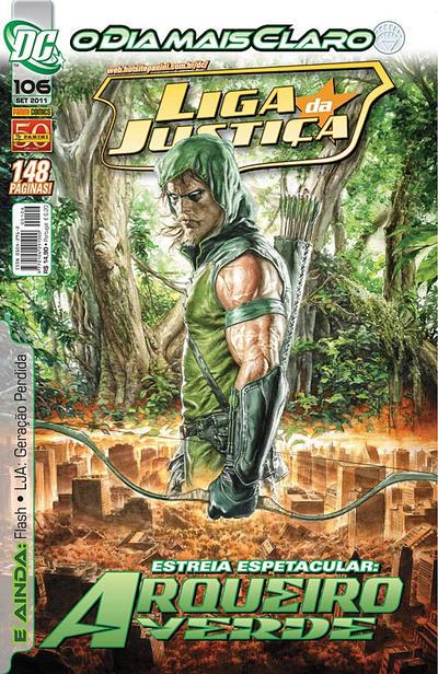 Cover for Liga da Justiça (Panini Brasil, 2002 series) #106