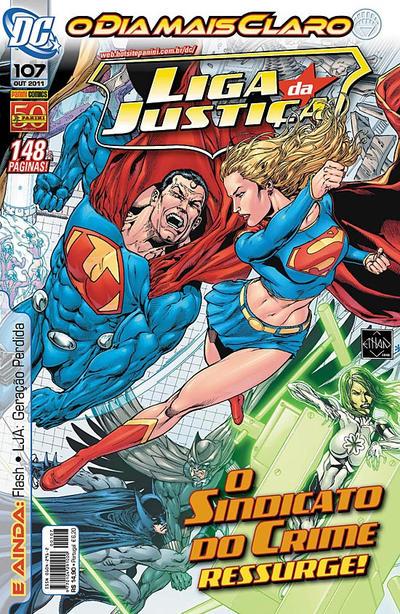 Cover for Liga da Justiça (Panini Brasil, 2002 series) #107