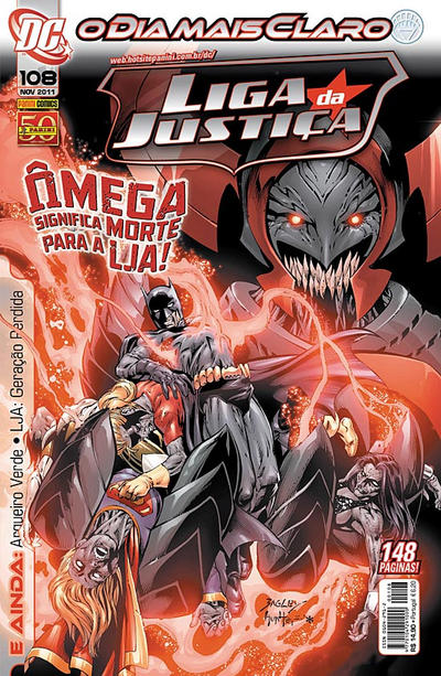 Cover for Liga da Justiça (Panini Brasil, 2002 series) #108