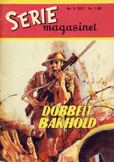 Cover for Seriemagasinet (Serieforlaget / Se-Bladene / Stabenfeldt, 1951 series) #3/1971