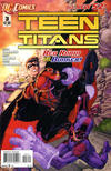 Cover for Teen Titans (DC, 2011 series) #3 [Direct Sales]