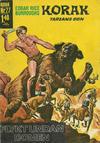 Cover for Korak (Williams Förlags AB, 1966 series) #27