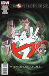Cover Thumbnail for Ghostbusters (2011 series) #1 [2nd printing]