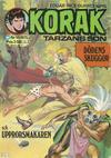 Cover for Korak (Williams Förlags AB, 1966 series) #10/1975