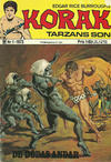 Cover for Korak (Williams Förlags AB, 1966 series) #1/1973