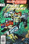 Cover for Transformers: Generation 2 (Marvel, 1993 series) #3 [Newsstand]