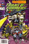 Cover for Transformers: Generation 2 (Marvel, 1993 series) #4 [Newsstand Edition]