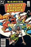 Cover Thumbnail for Justice League of America (1960 series) #249 [Newsstand Edition]