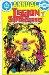 Cover for The Legion of Super-Heroes Annual (DC, 1982 series) #1 [Direct]