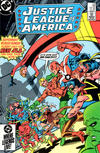 Cover Thumbnail for Justice League of America (1960 series) #238 [Direct Sales (Comic Book Stores)]