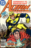 Cover Thumbnail for Action Comics (1938 series) #594 [Newsstand]