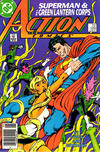 Cover Thumbnail for Action Comics (1938 series) #589 [Newsstand]