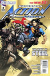 Cover for Action Comics (DC, 2011 series) #4 [Direct Sales]
