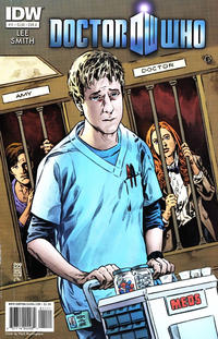 Cover Thumbnail for Doctor Who (IDW, 2011 series) #11 [Cover A]
