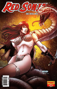 Cover Thumbnail for Red Sonja (Dynamite Entertainment, 2005 series) #59 [Cover A Fabiano Neves]