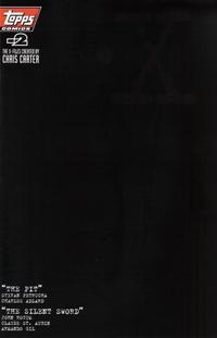 Cover Thumbnail for The X-Files (Topps, 1996 series) #-2 [Black Logo Variant]