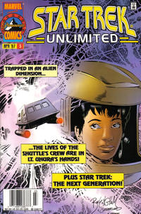 Cover Thumbnail for Star Trek Unlimited (Marvel, 1996 series) #3 [Newsstand Edition]