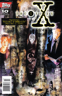 Cover Thumbnail for The X-Files (Topps, 1995 series) #10 [Newsstand Edition]
