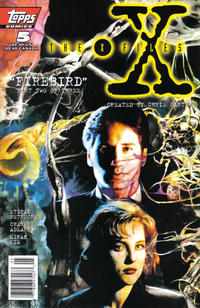 Cover Thumbnail for The X-Files (Topps, 1995 series) #5 [Newsstand Edition]