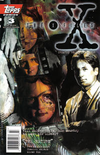 Cover Thumbnail for The X-Files (Topps, 1995 series) #3 [Newsstand Edition]
