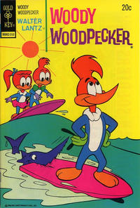 Cover Thumbnail for Walter Lantz Woody Woodpecker (Western, 1962 series) #132 [Gold Key]