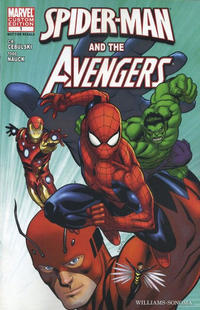 Cover Thumbnail for Williams-Sonoma Spider-Man & the Avengers (Marvel, 2011 series) #1
