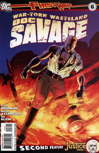 Cover Thumbnail for Doc Savage (DC, 2010 series) #6 [Direct Market Variant by John Cassaday]
